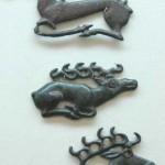 Geyik süslemeleri/ Orta Yenisey bölgesi M.Ö 6.-3. Yüzyıllar