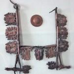Çift geyik oymalı askı/ Pazırık-Altay, Kurgan 1 MÖ. 305-288