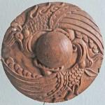 Dizgin alınlığı için dekoratif disk/ Pazırık- Altay 1. Tuekta Kurganı MÖ. 430-420