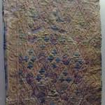 Eyer keçesi kaplaması / Pazırık-Altay, Kurgan-5 MÖ. 252-238