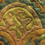 Eyer örtüsü/ Pazırık-Altay, Kurgan-5 MÖ. 252-238