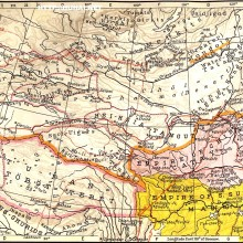 30-蒙古帝國的開始,西元 1234 年的邊界 ( Beginings of the Mongol Empire-Boundaries of 1234 A .D. )